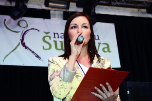 Bára Tlučhořová Šumava na nohou charitativní akce